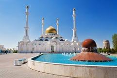 Nur-Astana Mosque Royalty Free Stock Photos