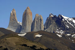 Nur Berg Stockbild
