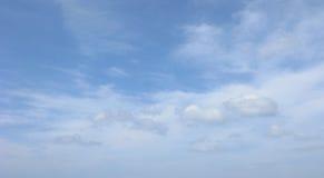 Nur blauer Himmel Lizenzfreies Stockfoto