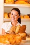 Nur die beste und frische Bäckerei Stockfoto
