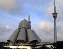 An'nur Jamek Mosque Stock Image