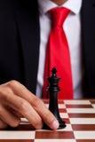 Nur König verließ auf dem Vorstand Stockfoto