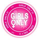 Nur Mädchen lizenzfreie abbildung