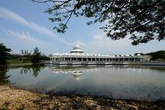 An-Nur Mosque a.k.a Petronas Technology University Mosque royalty free stock image