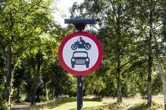 Nur Motorräder und Autos Lizenzfreie Stockbilder