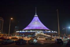 Nur-sultan, Astana, Kazachstan, kapitaal, Centraal-Azië stock fotografie