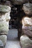 撒丁岛。Nuraghe细节 图库摄影