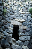 撒丁岛。Nuraghe 免版税图库摄影