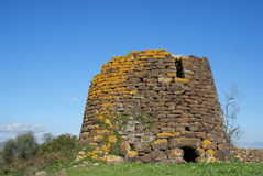 Nuraghe. Archeological building in Sardinia, Italy (1500 B.C stock photos