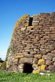 Nuraghe. Archeological building in Sardinia, Italy (1500 B.C stock photography