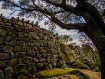Nuraghe Albucciu, Arzachena, Cerdeña imagen de archivo libre de regalías