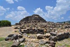 Nuraghe em Sardinia fotografia de stock royalty free