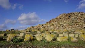 Nuraghe forntida byggnad av Sardinia Tid schackningsperiod arkivfilmer