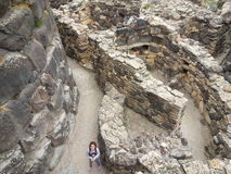 Nuraghe. Italy archeologie Nuraghe royalty free stock photo