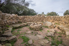 Nuraghe. La Prisgiona ad Arzachena Royalty Free Stock Photos