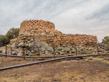 Nuraghe La Prisgiona, Arzachena, Sardinia    . The Nuraghe La Prisgiona is a nuragic archaeological site, located in the Capichera valley in the Royalty Free Stock Images