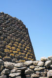 Nuraghe Losa. Sardinia (Sardegna), Italy, Archeological building 1500 a.c royalty free stock photography