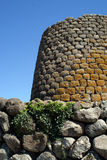 Nuraghe Losa. Sardinia (Sardegna), Italy, Archeological building 1500 a.c royalty free stock images