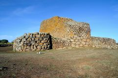 Nuraghe Losa Stock Photography