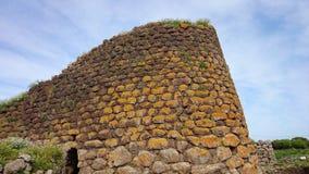 Nuraghe Losa i Sardinia Arkivfoton