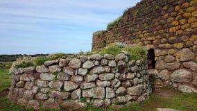 Nuraghe Losa i Sardinia Royaltyfri Foto