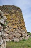Nuraghe Losa i Sardinia Arkivbild