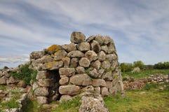 Nuraghe Losa i Sardinia Arkivbilder