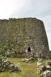 Nuraghe Losa i Sardinia Arkivfoto