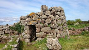 Nuraghe Losa in Sardinia Royalty Free Stock Images