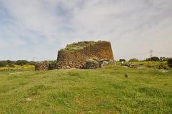 Nuraghe Losa in Sardinia Stock Images