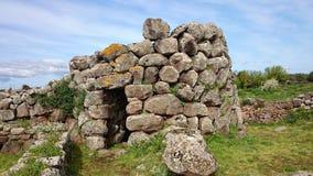 Nuraghe Losa in Sardinien lizenzfreie stockbilder