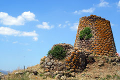 Nuraghe Nuradeo stock photography