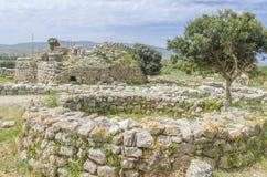 Nuraghe Palmavera, Alghero, Sardinia, Italy Royalty Free Stock Images