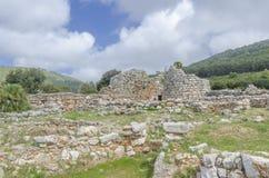 Nuraghe Palmavera, Alghero, Sardinia, Italy Royalty Free Stock Photos