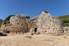Nuraghe Palmavera. Is in the countryside of Alghero (Sardinia stock photography