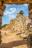 Nuraghe Palmavera near Alghero Royalty Free Stock Photography