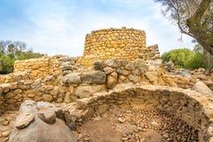 Nuraghe Prisgiona near Arzachena Royalty Free Stock Images