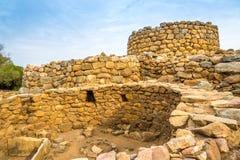 Nuraghe Prisgiona near Arzachena Stock Image