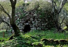 Nuraghe Santa Cristina Stock Photography