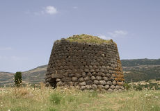 Nuraghe Santa Sabina Royalty Free Stock Photo