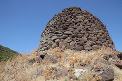 Nuraghe, Sardinia Royalty Free Stock Images