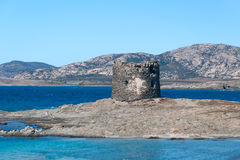 Nuraghe in Sardinien Stintino Stockfotografie