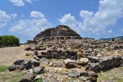 Nuraghe in Sardinige Royalty-vrije Stock Fotografie