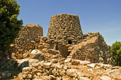 Nuraghe Serbissi Sardinia royalty free stock photos