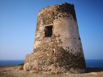 THE NURAGHI: THE PYRAMIDS OF SARDINIA royalty free stock photo