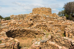 Nuraghic culture. The nuragic settlement La Prisgion was once the most important nuragic settlement in the north Sardinian region Royalty Free Stock Image