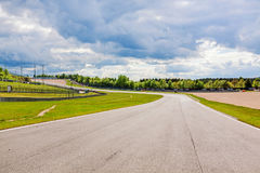 Nurburgring speedway, Tyskland Royaltyfria Foton