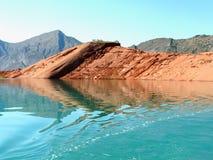 Nurek-Reservoir Lizenzfreies Stockfoto