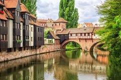 Nuremberg, Alemanha Imagem de Stock Royalty Free