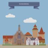 Nuremberg, Allemagne Photo stock